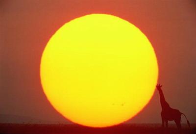 Почему солнечный диск имеет резкие